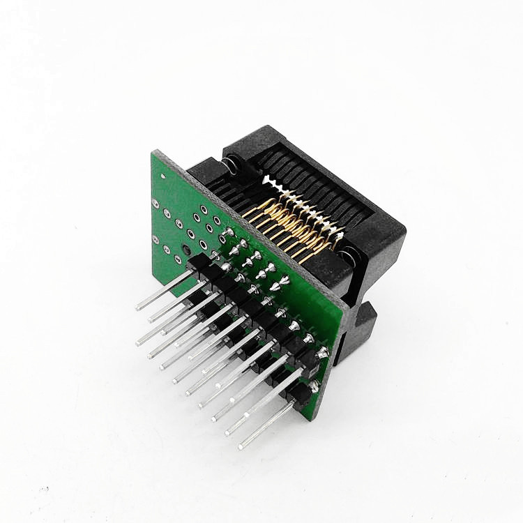 SOP18-SOIC18-SO18 Socket OTS18(28)-1.27-04 Socket SOP18(7.5)-1.27 Socket High quality IC Test & burn-in socket for SOP18/SOIC18/SO18 package 137