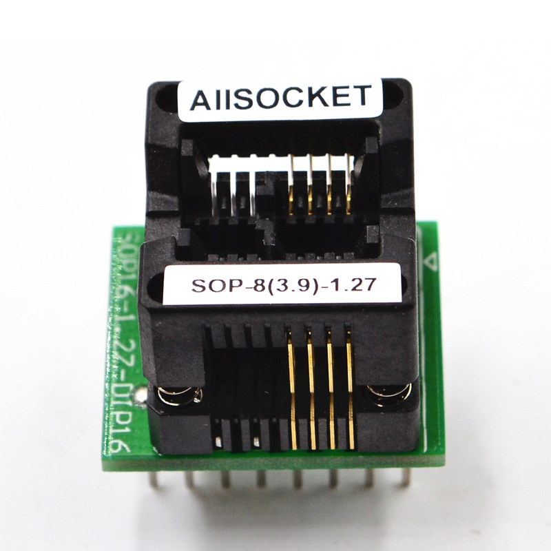 SOP8-SOIC8-SO8 Socket OTS8(16)-1.27-03 Socket SOP8(3.9)-1.27 Socket High quality IC Test & burn-in socket for SOP8/SOIC8/SO8 package 128